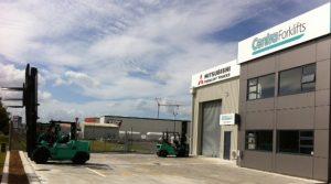 Hamilton branch landscape Centrafork Forklifts